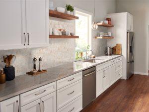 Cedar Grove Kitchen Remodel with Ivory Fantasy Granite