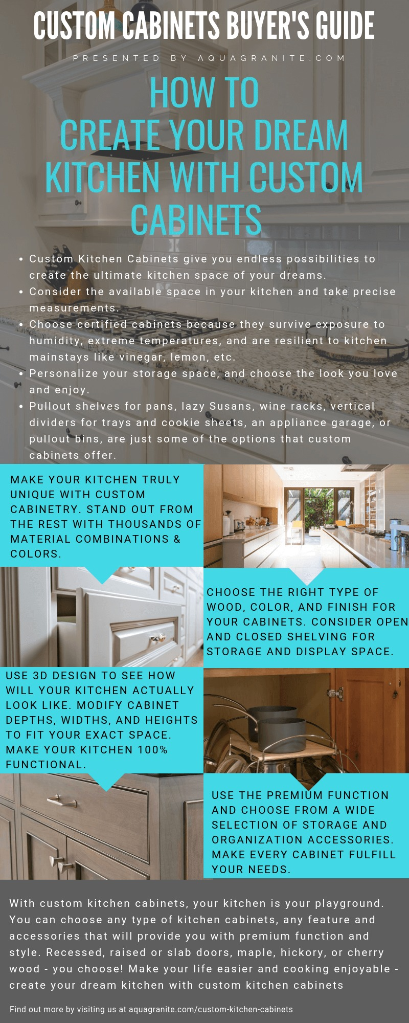 Custom Kitchen Cabinets Buying Guide by Aqua Kitchen and Bath Design Center NJ (1)