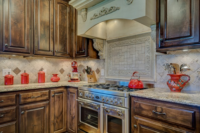 Kitchen Cabinets and Granite Countertop Package Deal