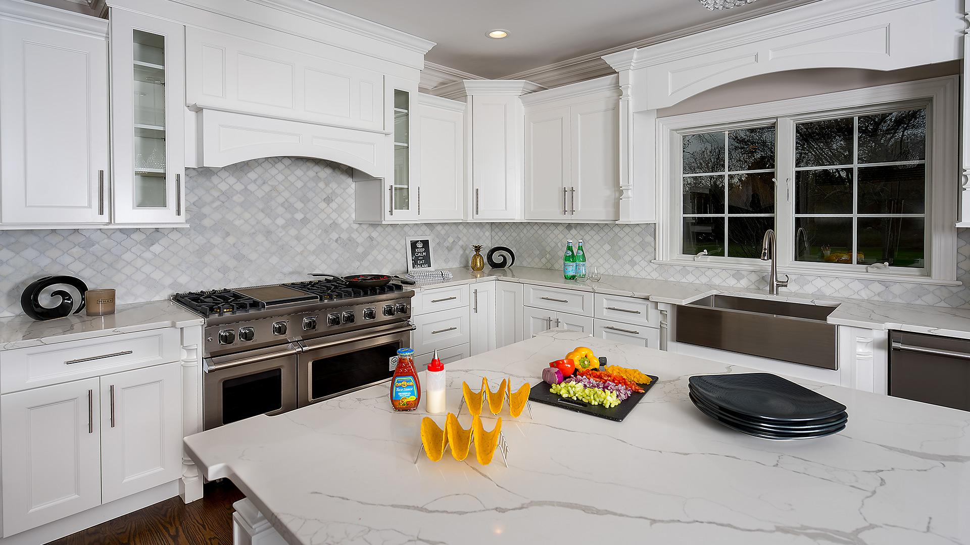 Fabuwood Nexus Frost Kitchen Design