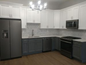 Forevermark Cabinets and MSI Quartz Installation in Jersey City Project