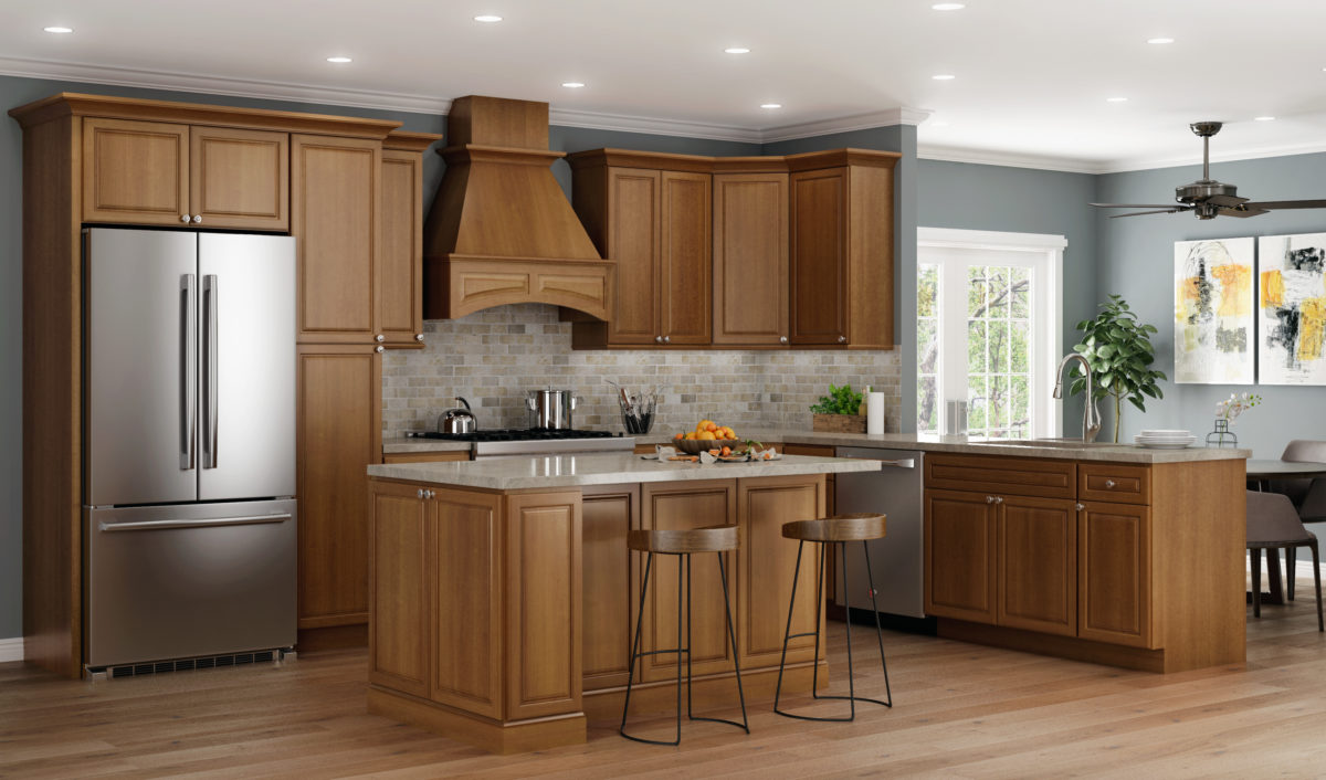 Bristol Stock Kitchen Cabinets Design by CNC