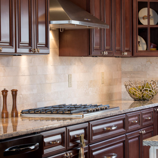 Signature Brownstone Kitchen Cabinets by Forevermark