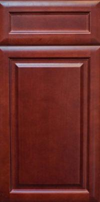 Cherry Glaze Cabinet Door Style Detail