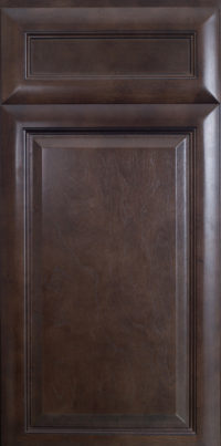 K-Series Espresso Kitchen Cabinet Door Style