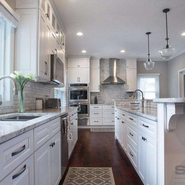 Gramercy White Forevermark Kitchen Cabinets