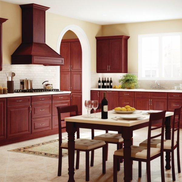 Forevermark Kitchen Cabinets K--Series Cherry Glaze