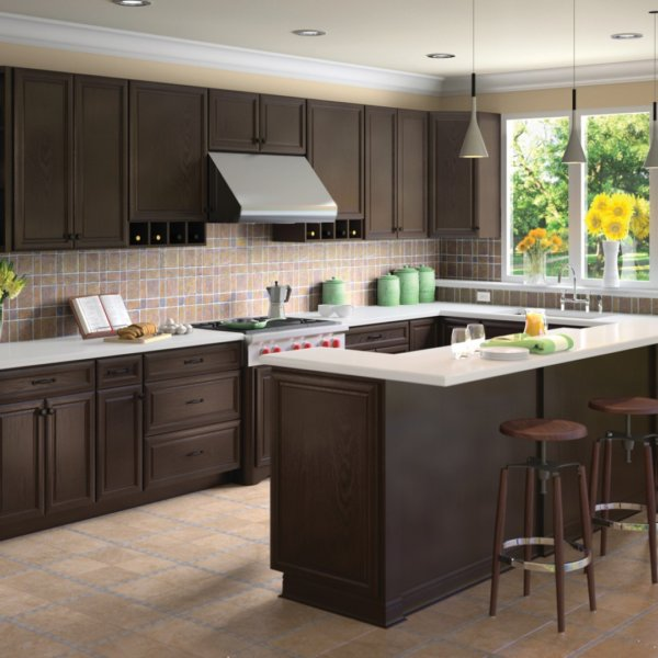 K-Series Espresso Forevermark Kitchen Cabinets Design