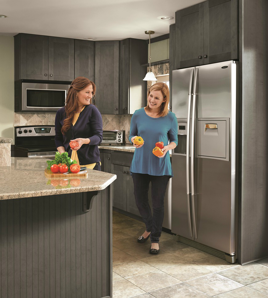 Dartmouth Gray Wolf Classic Cabinets Kitchen Design