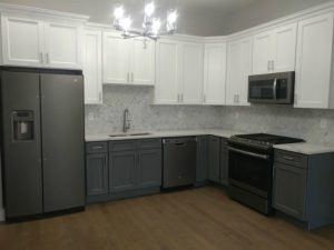 orevermark Cabinets and MSI Quartz Installation in Jersey City