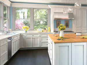 Uptown White Forevermark Kitchen Cabinets in Hawthorne NJ