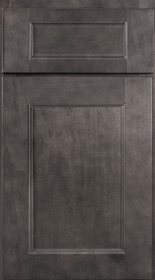Wolf York Cabinets Door Style in Gray Stain