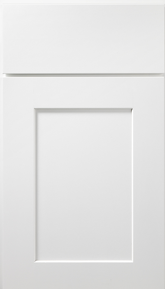 Dartmouth Wolf Cabinets in White Paint