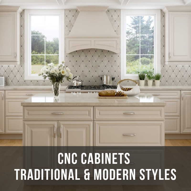 CNC Cabinets Timeless Selection: Choose Your Ideal Style