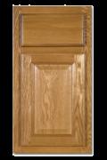 Oak Kitchen Cabinet Door Style Detail
