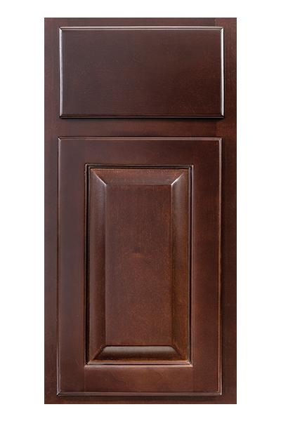 Sierra Espresso Kitchen Cabinet Door Style Detail