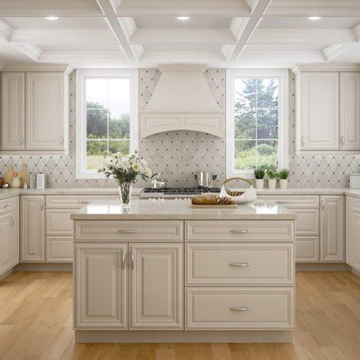 Harmony Pearl Kitchen CNC Cabinets