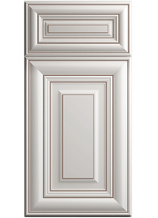 Harmony Pearl Glaze CNC Cabinet Door Detail