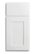 Luxor White Cabinet Door Style Detail