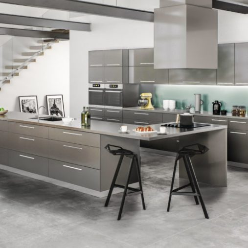 Milano High Gloss Kitchen Cabinets Design