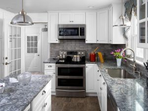 Fabuwood Hallmark Frost Cabinets for Clifton NJ Kitchens