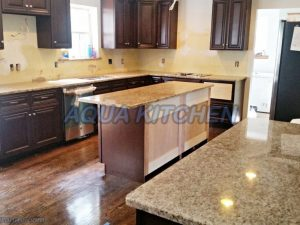 Giallo Ornamental Granite Countertop Installation in Saylorgsburg, PA