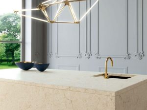 Marble Looking Quartz Countertops for Franklin Lakes, NJ Kitchens