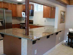 Netuno Bordeaux Granite Countertop Installation in Paterson, NJ