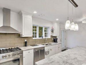 Super White Quartzite for Clifton NJ Kitchens