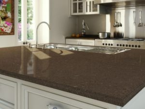 Wild Rice Caesarstone Quartz Countertop for Fair Lawn, NJ Kitchens
