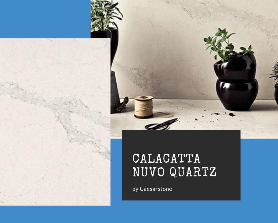 Countertops: Calacatta Nuvo by Caesarstone