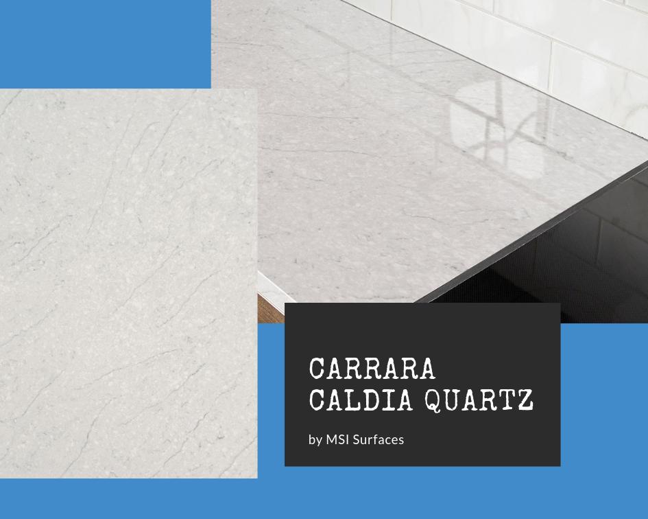 Carrara Marble Quartz: Carrara Caldia by MSI Surfaces
