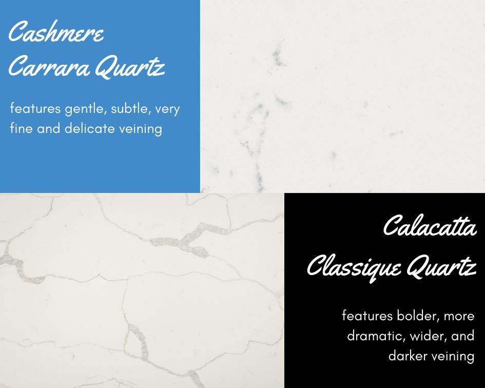 alacatta Quartz vs Carrara Quartz