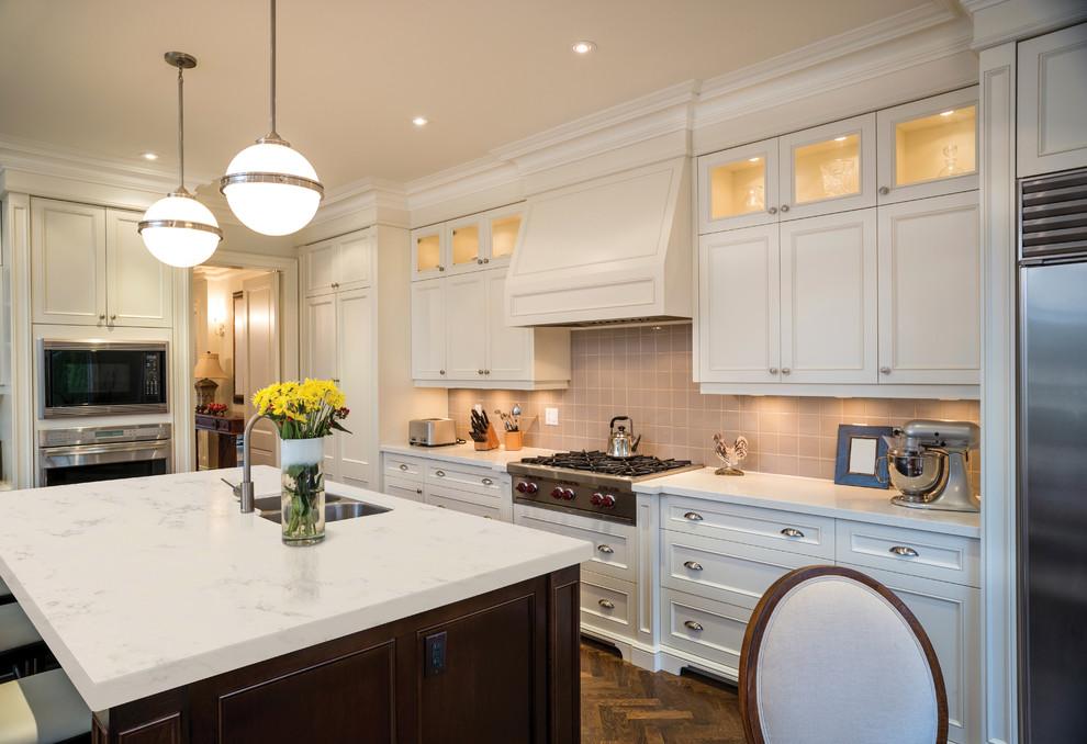 Carrara Grigio Kitchen by MSI Surfaces