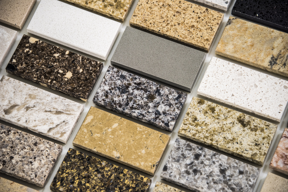 Granite colors samples