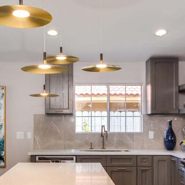 Forevermark Midtown Grey Kitchen Cabinets