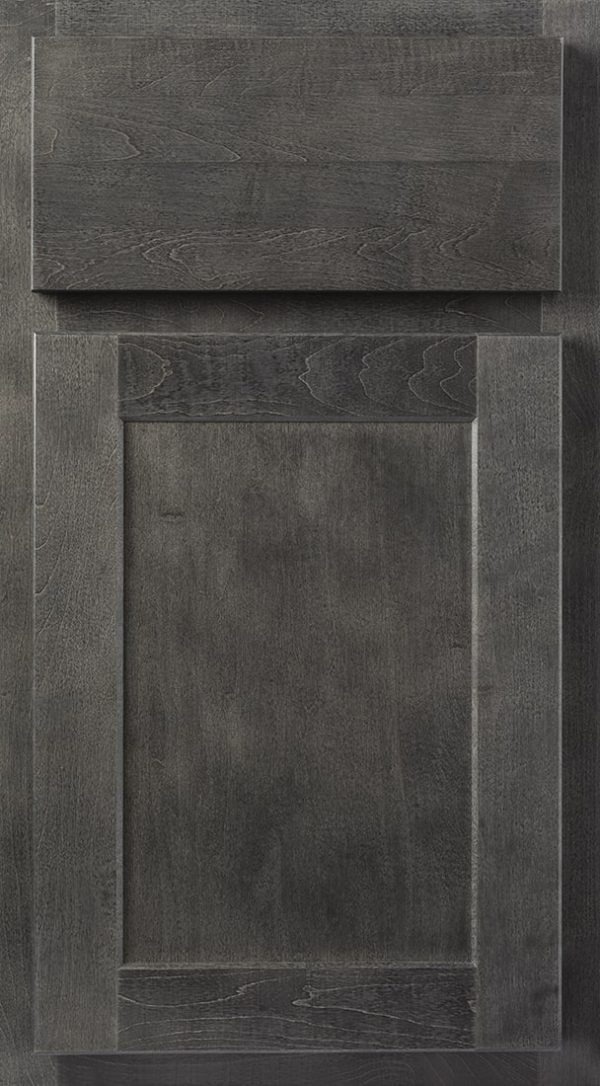 Wolf Hanover Gray Stain Kitchen Cabinets