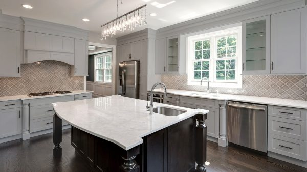 Fabuwood Allure Galaxy Nickel Kitchen Cabinets