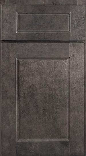Wolf York Gray Stain Kitchen Cabinets