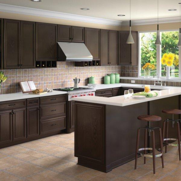 Forevermark K-Series Espresso Kitchen Cabinets
