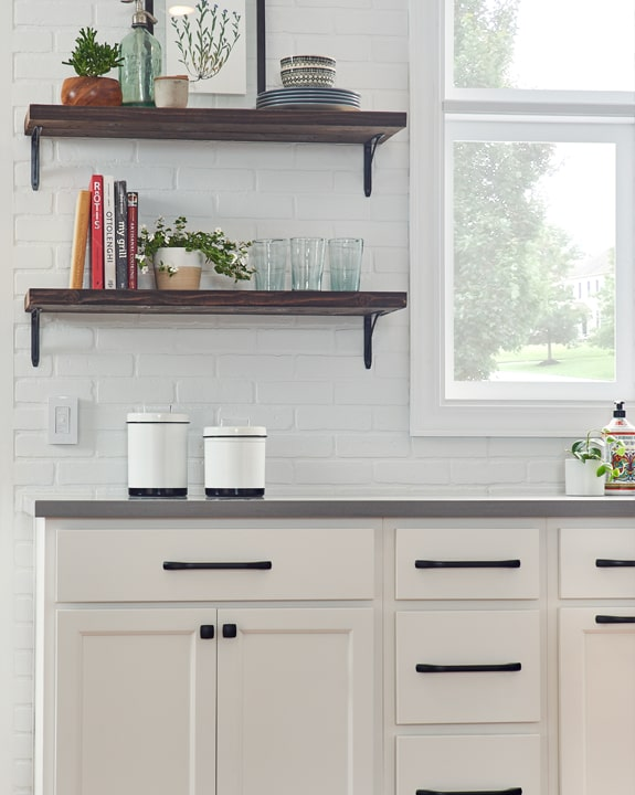 Wolf Somerset White Paint Kitchen Cabinets