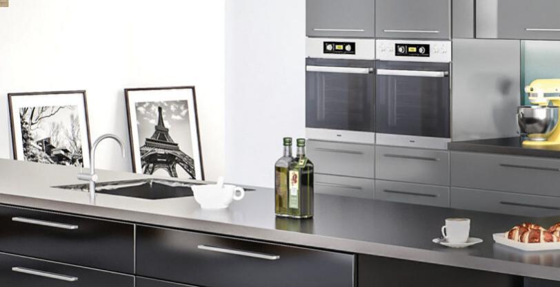 CNC Milano Slate Classic Kitchen Cabinets