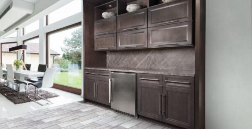 Fabuwood Allure Onyx Cobblestone Kitchen Cabinets