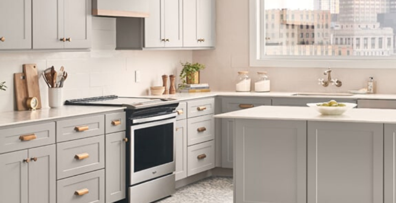 Wolf Dartmouth 5-Piece Pewter Cabinets