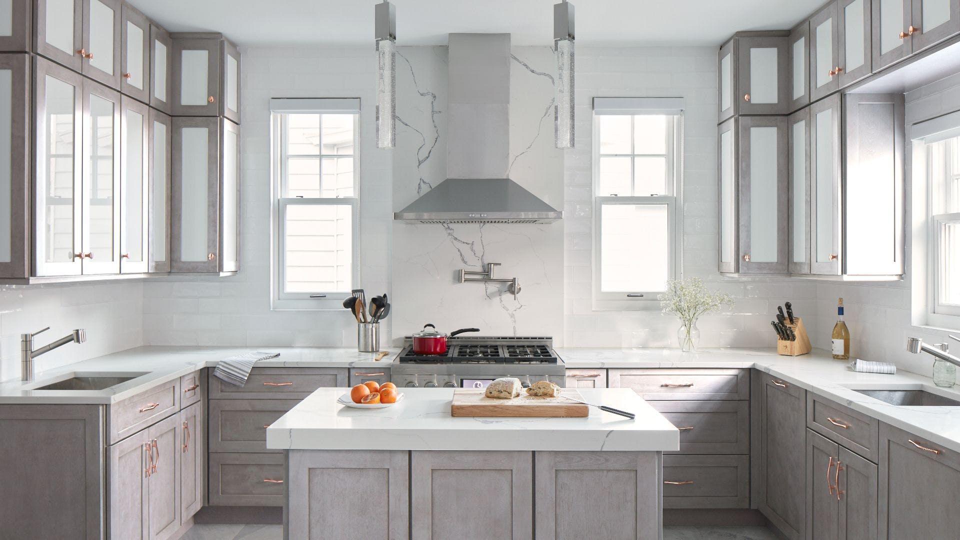 Allure Galaxy Horizon Kitchen Cabinets by Fabuwood