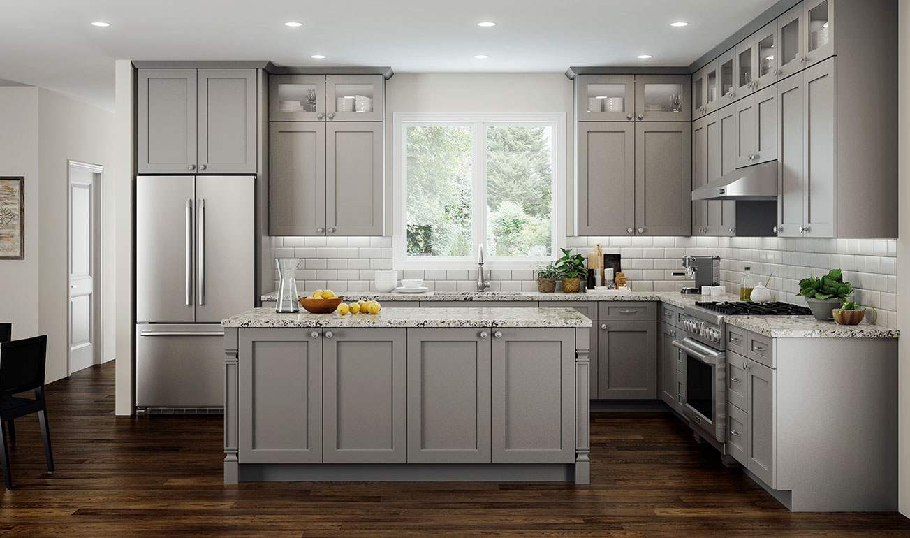 Cnc Concord Elegant Dove Kitchen Cabinets