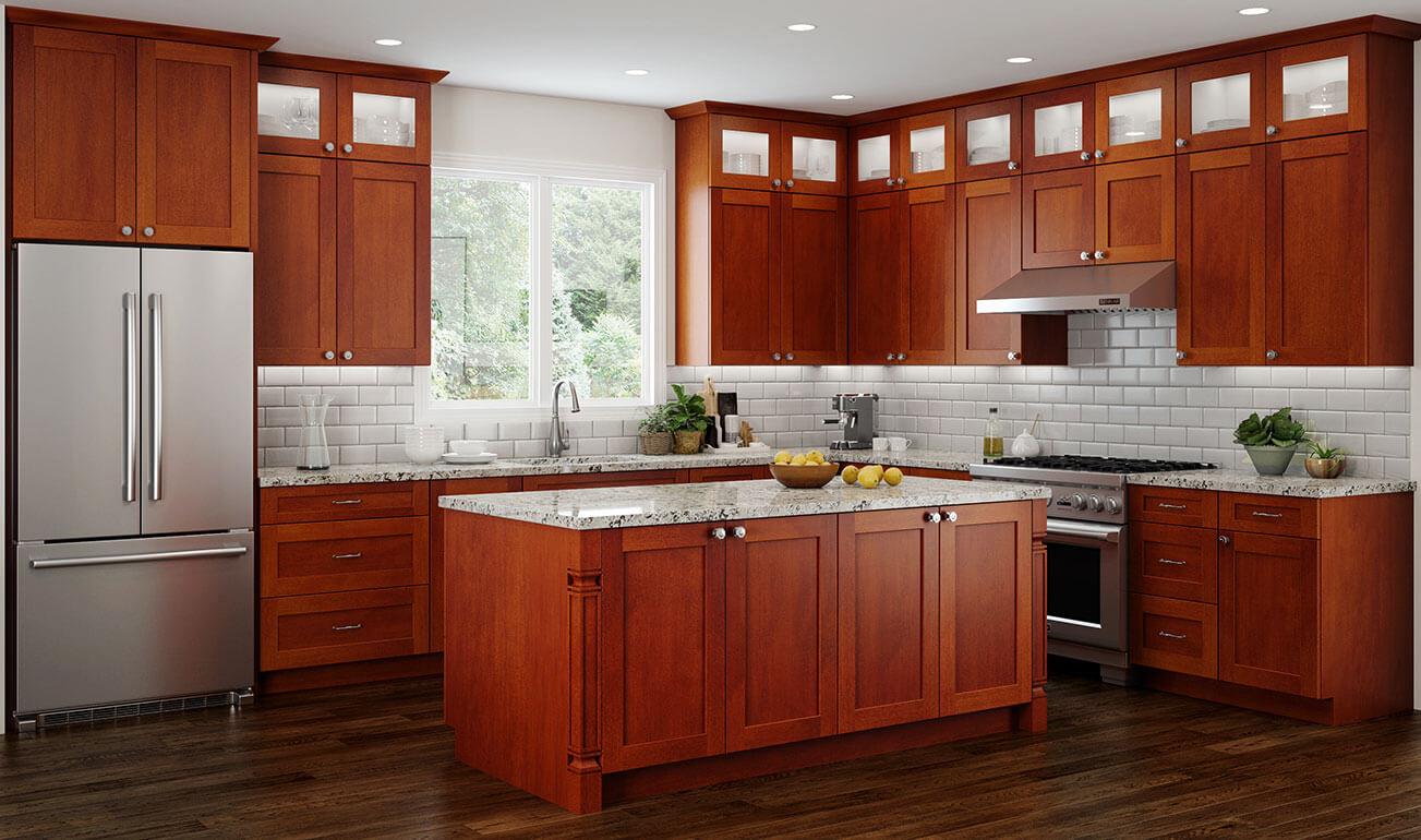 Concord Elegant Nutmeg Kitchen Cabinets