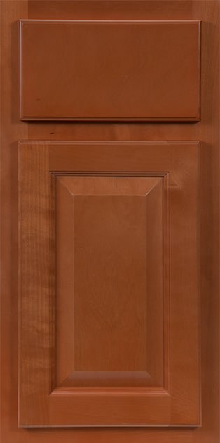 CNC Country Sierra Nutmeg Kitchen Cabinets