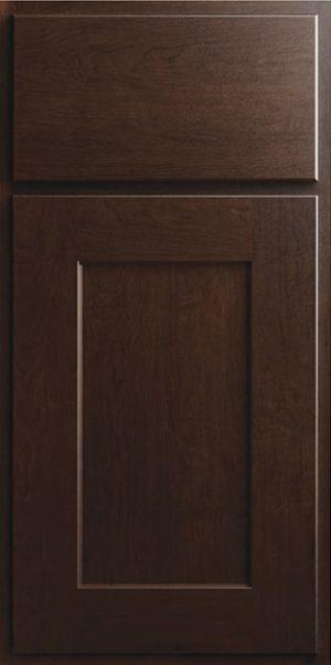 CNC Country Luxor Espresso Kitchen Cabinets