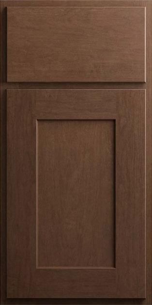 CNC Country Luxor Cinnamon Kitchen Cabinets